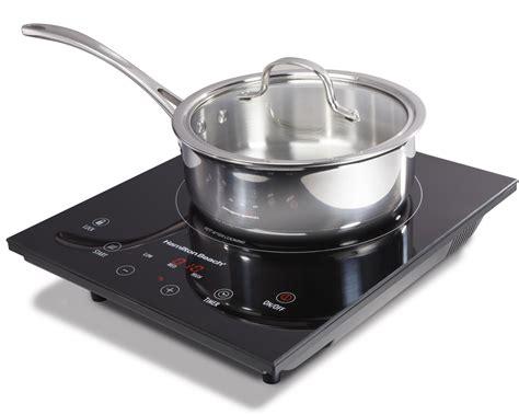 amazoncom hamilton beach portable induction cooktop electric