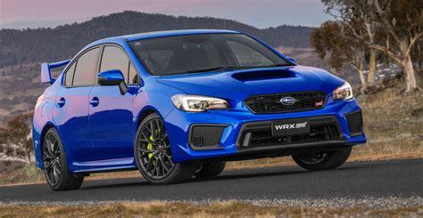 subaru cars 2018 subaru wrx wrx sti pricing and specs tweaked looks
