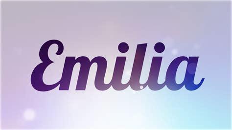 Significado De Emilia, Nombre Español Para Tu Bebe Niño O