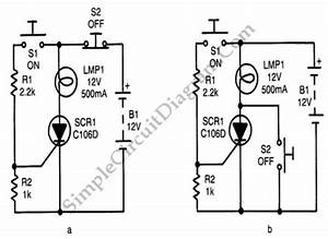 Two Methods For Push Button Controlled Power Switch