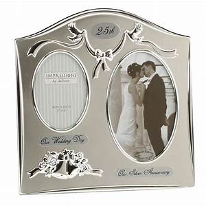 25th year silver wedding anniversary gifts for parents With gift for wedding anniversary