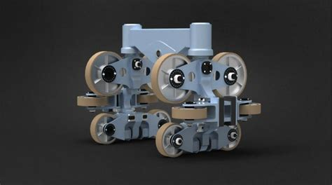 Roller Coaster Wheel Assembly By Patrick Mcgarvey At