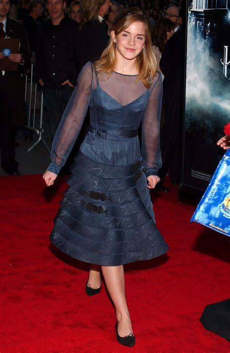 Emma Watson Warner Bros Pictures Premiere Harry