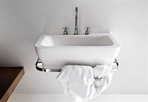 Was Heißt Waschbecken Auf Englisch : novecento waschbecken mit handtuchhalter von agape stylepark ~ Yasmunasinghe.com Haus und Dekorationen