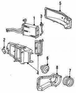 Chevrolet S10 Blower Case  Blower Motor Case  Blower Motor