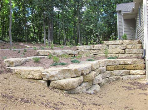 Natural Stone Retaining Walls