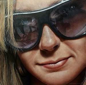 25 Stunning Mega Photo Realistic Paintings by Simon Hennessey