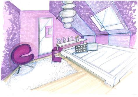 dessiner sa chambre comment dessiner une en perspective idées