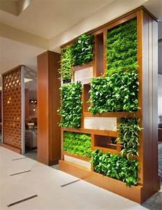 Creative, Indoor, Vertical, Wall, Garden, U2013, Gardenmagz, Com