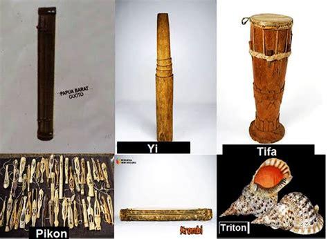 Alat musik tradisional papua meliputi gambar, penjelasan dan cara memainkannya berhasil di kumpulankan untuk anda. Alat Musik Papua Barat - Gambar Alat Musik