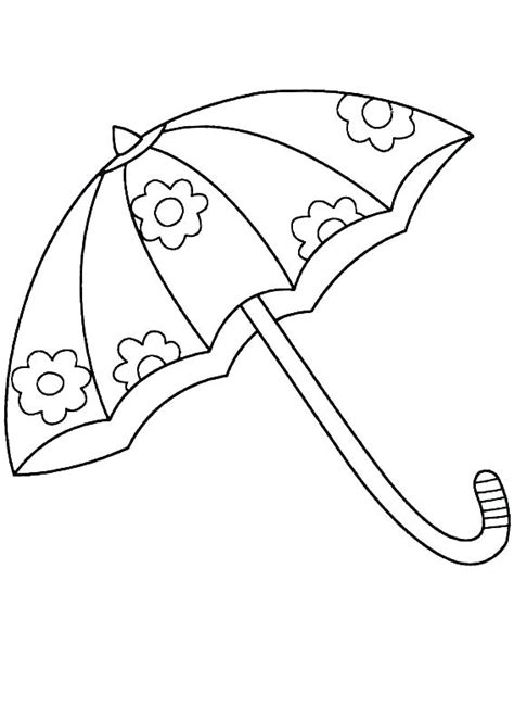 umbrella coloring pages  coloring pages  kids