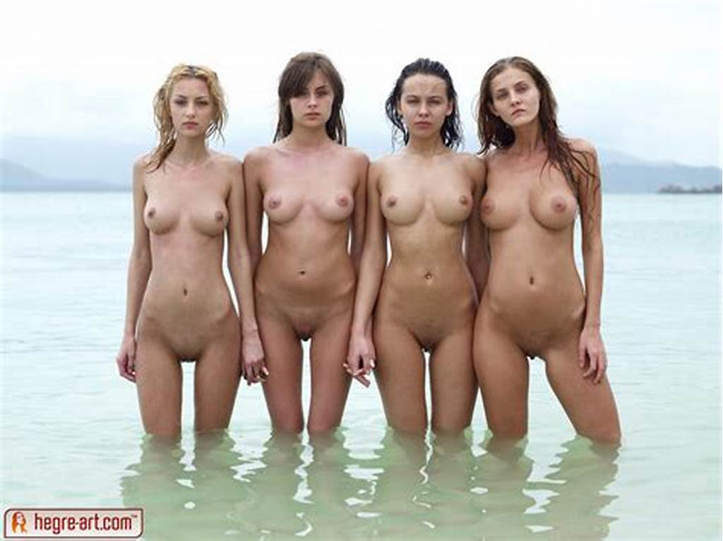 #Four #Naked #Girls #Have #Fun #During #Their #Holiday