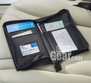 high road glove box organizer With vehicle document folder