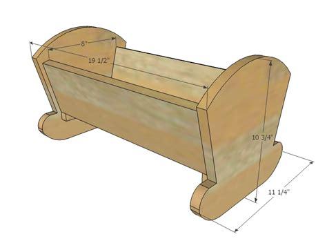 woodwork doll cradle plans  plans