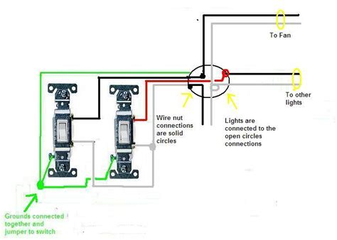 Have Switches Both Are Slide Dimmers For Fan