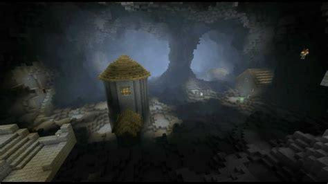minecraft timelapse underground city youtube
