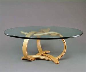 Small glass coffee tables create accessible home ideas for Circular glass top coffee table