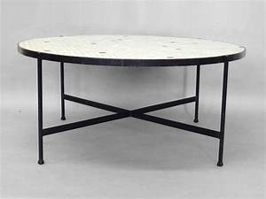 black wrought iron with inset glass tile top coffee table With black iron and glass coffee table