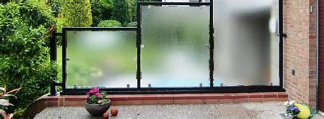 Sicht Und Windschutz Für Balkon by Sicht Und Windschutz Smela Metallbau