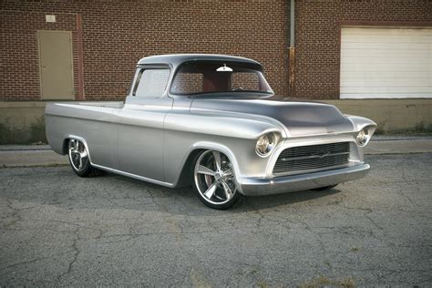 1957 Chevrolet Custom Truck 'quiksilver'185887