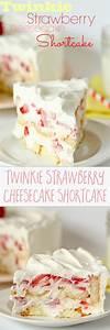 Twinkie Strawberry Cheesecake Shortcake | Recipe | Cheat ...