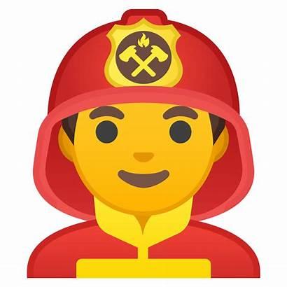 Emoji Bombero Icon Firefighter Google Bombeiro Pompier