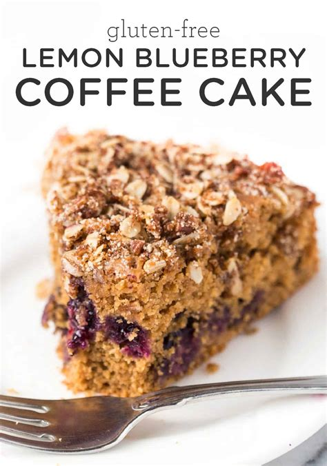 And the crumb topping is just delicious. Gluten-Free Lemon Blueberry Coffee Cake - Simply Quinoa