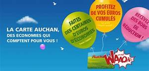 Www Auchan Fr Espace Carte Fidelite : avis carte de fid lit auchan waaoh avantages services ~ Dailycaller-alerts.com Idées de Décoration