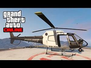 GTA 5 Online - How to Find the Police Helicopter (Maverick ...
