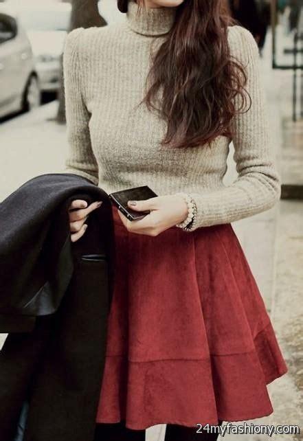 Cute winter dress outfits tumblr 2016-2017   B2B Fashion