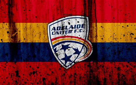 Adelaide united live score (and video online live stream*), team roster with season schedule and sofascore live score has details for each team where you can see last 10 soccer matches, tables. Download wallpapers 4k, FC Adelaide United, grunge, A ...