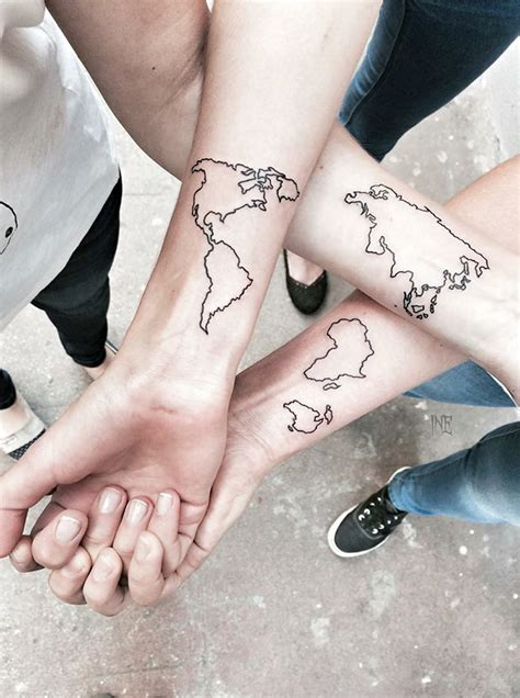 20+ Best Friend Tattoo Ideas To Show Your Squad Is The
