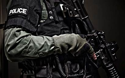 Police Officer Swat Soldier Militarizing Childhood Policing