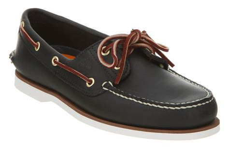 Boat Shoes Navy Blue by Mens Timberland New Boat Shoe Navy Blue Leather Shoes Ebay