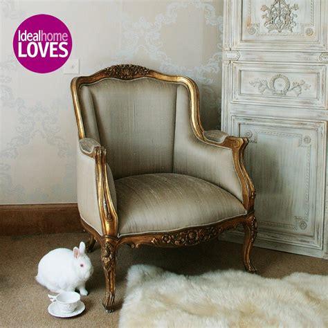 versailles gold armchair bedroom company