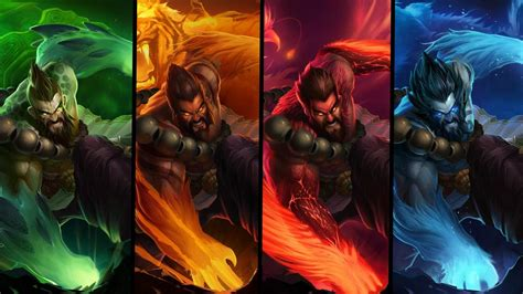Spirit Guard Udyr Animated Wallpaper - udyr troll escape league of legends 2014