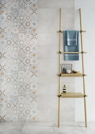 collection concrete style ceramic tiles cersanit