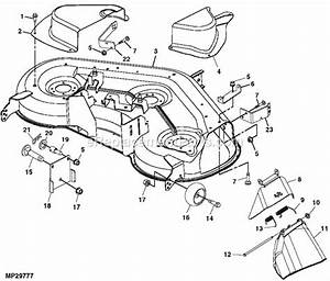 30 John Deere L130 Deck Belt Diagram