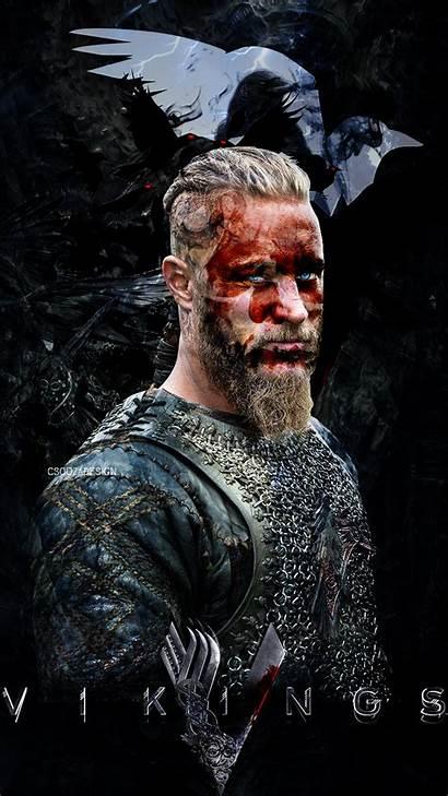 Ragnar Lothbrok Wallpapers Iphone Ironside Bjorn Vikings