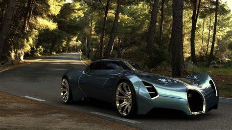 2025 Bugatti Aerolithe Concept Hd Desktop Wallpaper
