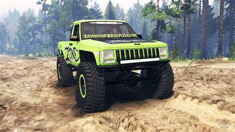 jeep comanche mj  spin tires