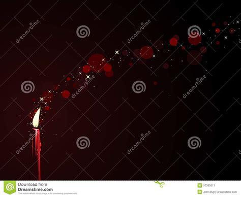 Candela Rossa Magia by Magia Rossa Della Candela Illustrazione Vettoriale