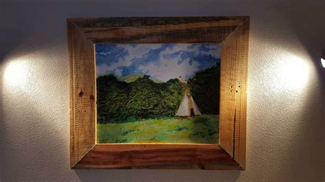 pallet picture frame  pallets