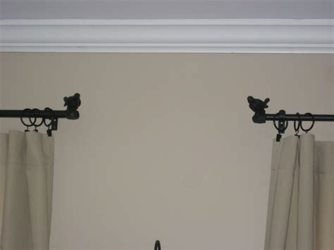 awesome curtain rod brackets no drill curtain rod curtain