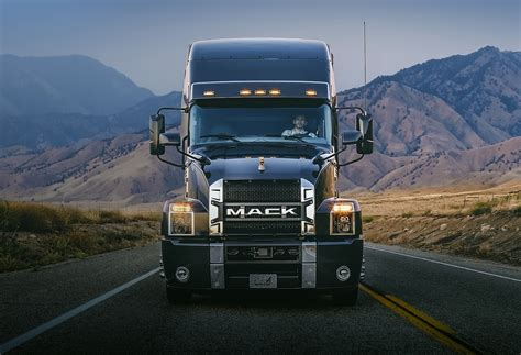 mack volvo trucks mack unveils anthem a brand new on highway tractor