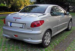 Peugeot 206 Cc : file peugeot 206 cc 20090612 rear jpg ~ Medecine-chirurgie-esthetiques.com Avis de Voitures