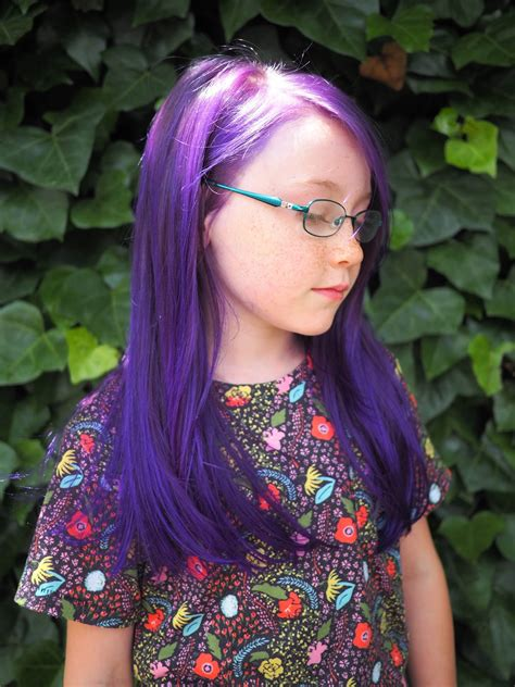Little Hiccups Purple Hair