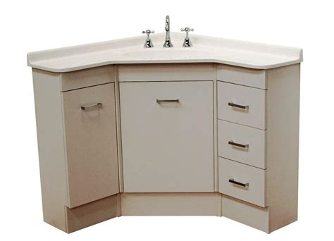 Corner Bath Vanity Cabinet, Corner Sink Small Bathroom