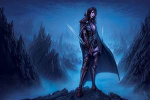 Fantasy, Warrior, Women, Females, Girls, Weapons, Sword, Wallpapers, Hd, Desktop, And, Mobile