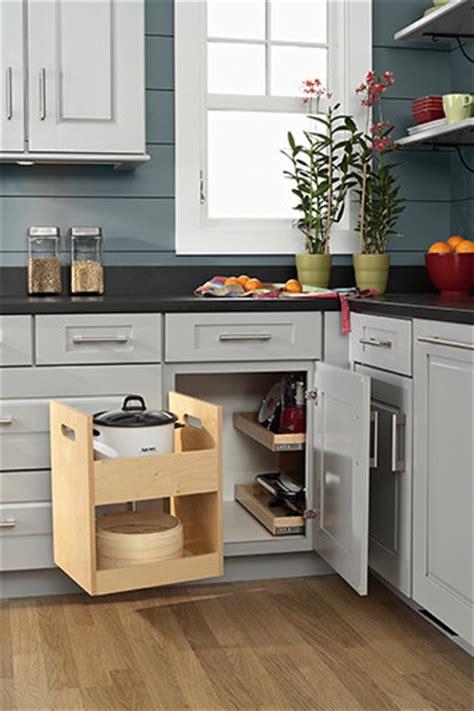 Blind Cabinet Storage Solutions blind corner storage kitchen drawer organizers